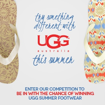 Win a pair of UGG Summer footwear!