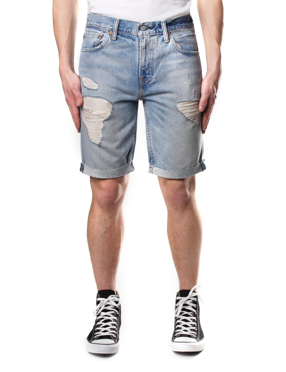68c20951 Levi's 511 Slim Fit Men's Cut Off Shorts