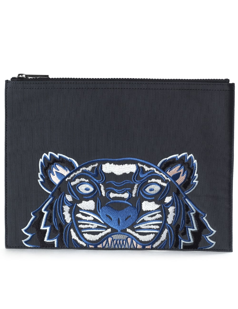 cd8054d673c Kenzo A4 Men's Embroidered Tiger Clutch