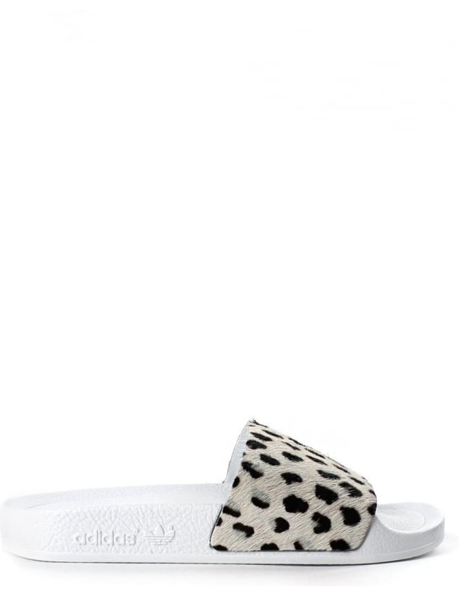 Adidas Adilette Unisex Animal Print Sliders