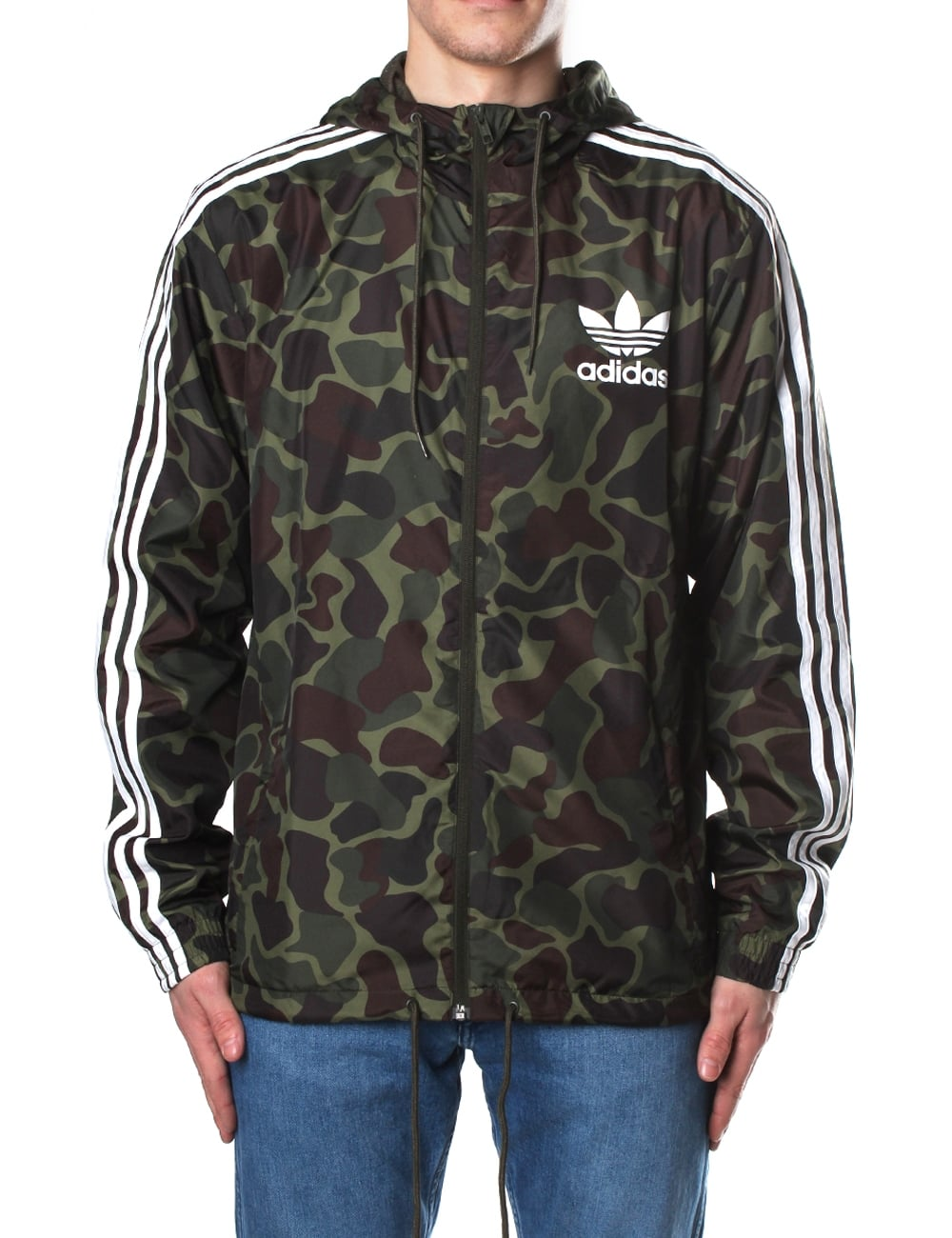 adidas camo men 39 s windbreaker. Black Bedroom Furniture Sets. Home Design Ideas