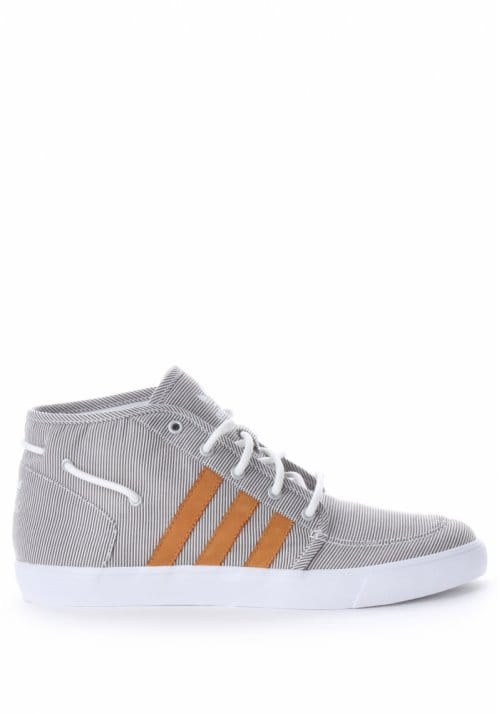 official photos 01001 f032e Court Deck Vulc Mid Mens Trainer GreyWhite
