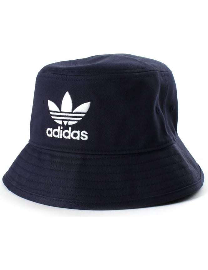 Adidas Logo Embroided Mens Bucket Hat Navy 6fb09f9281d