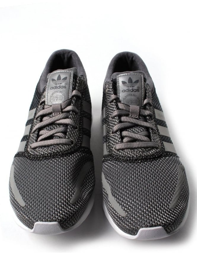 Adidas Los Angeles Woven 3 Stripe Men's Trainer Grey