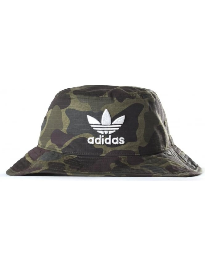 81f0bd1faa2 Adidas Men s Camo Bucket Hat