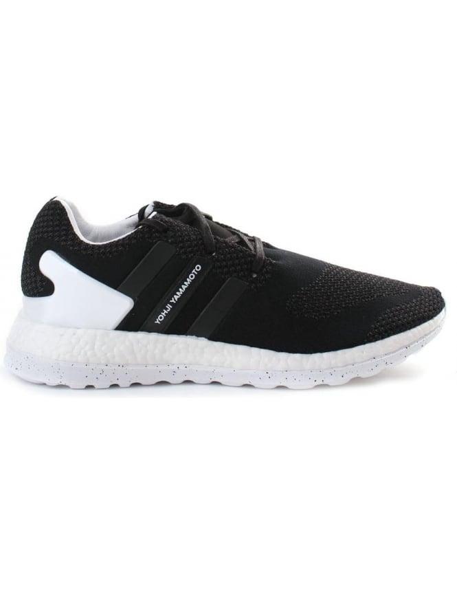 Y 3 Adidas Men's Pure Boost ZG Knit Trainer Black