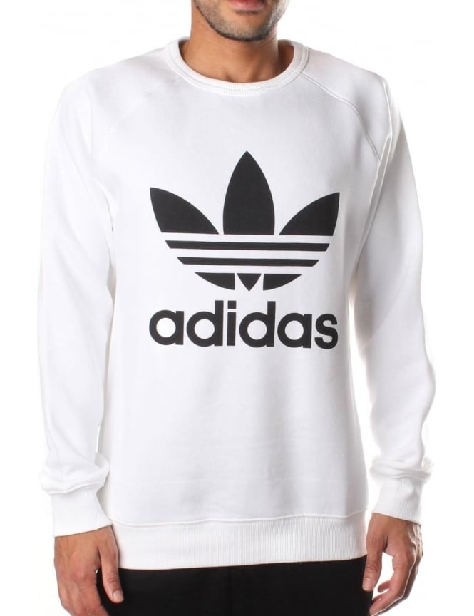 Adidas Men's Trefoil Crew Neck Sweat Top