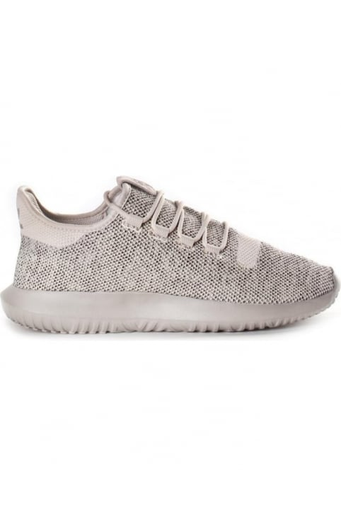 Men's Tubular Shadow Knit Trainer Light Brown