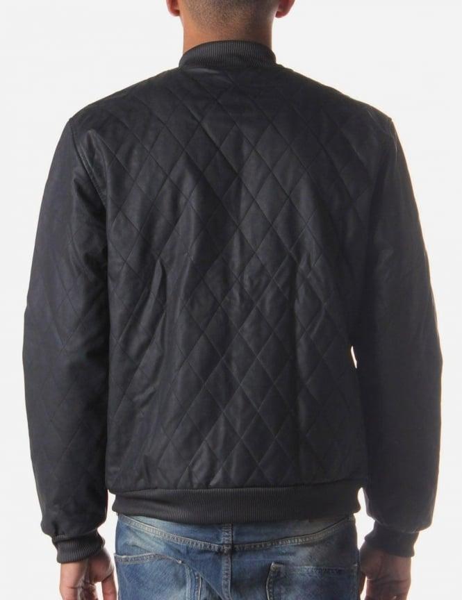 3edd7d8238d2 Adidas SST Men s Faux Leather Jacket Black