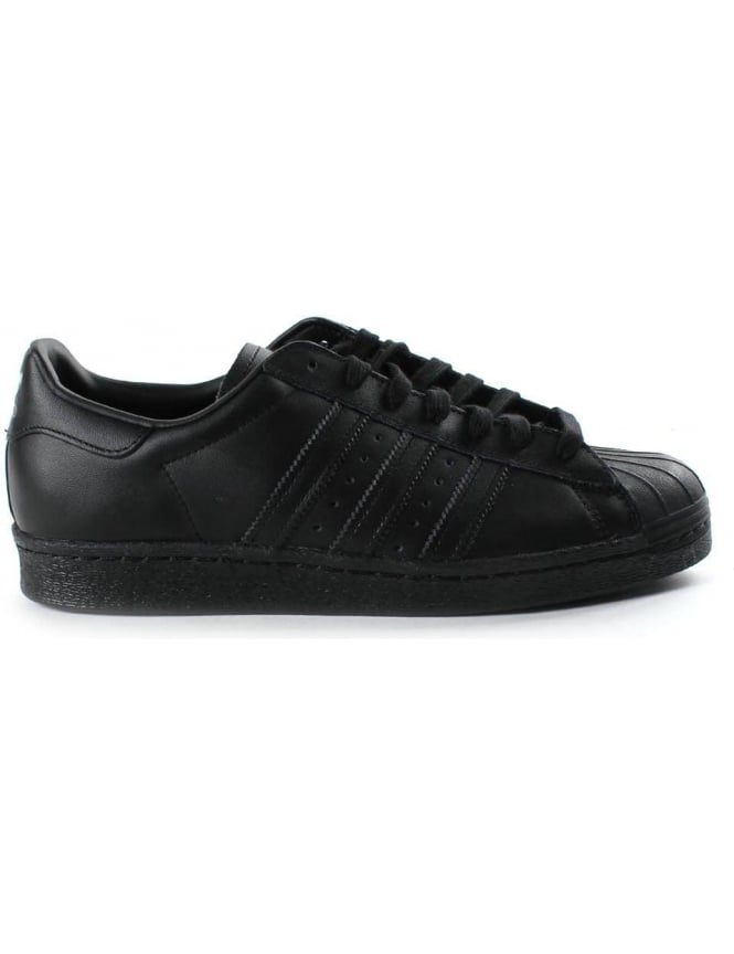 Adidas Superstar Men's 3 Stripe Lace Up Trainer