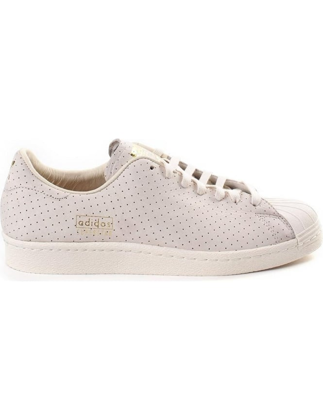 Adidas Superstar Men's Perforated Lace Up Trainer