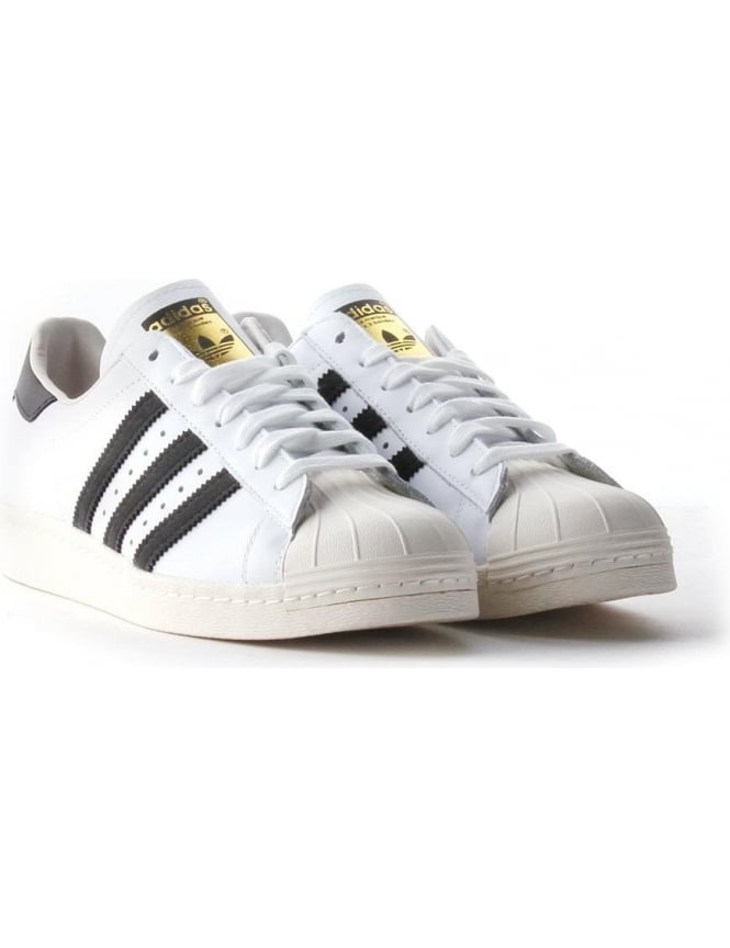 the latest 29424 e1080 Adidas Superstar Men's Shell Toe Trainers White/Black