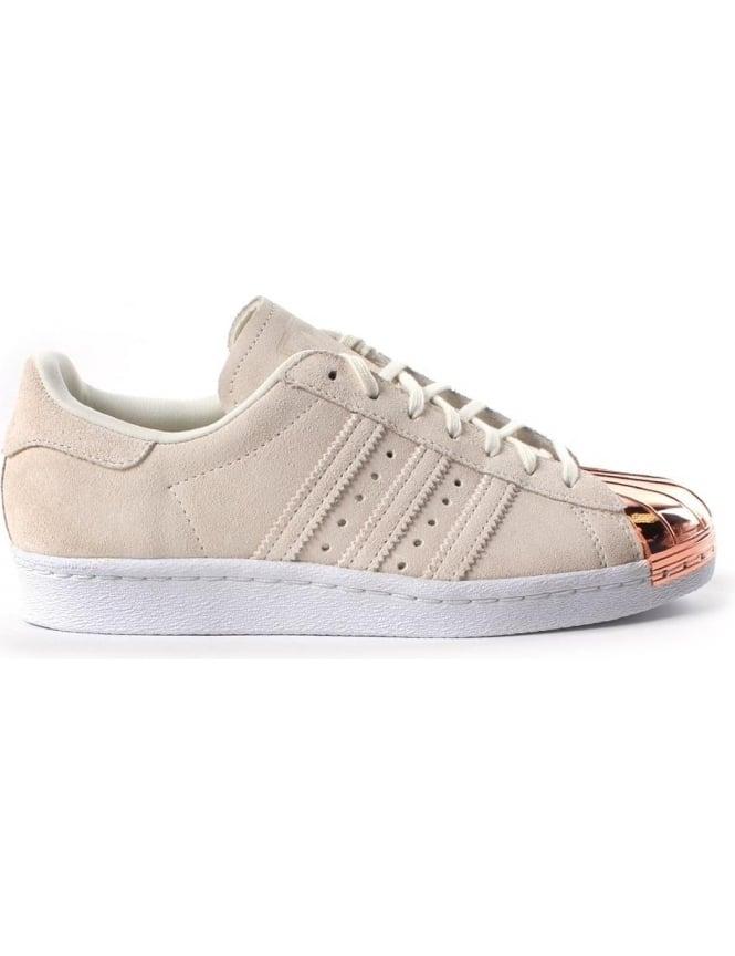 grande vente c08ff 9e4ab Adidas Superstar Metal Toe Cap Women's Lace Up trainer White