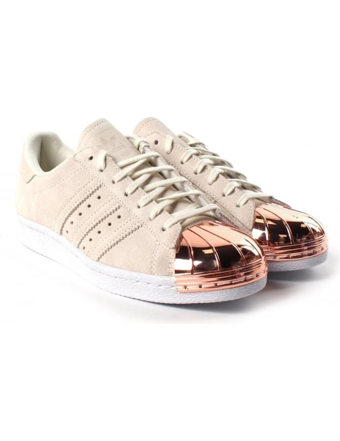 97027793679 Superstar Metal Toe Cap Women  039 s Lace Up trainer White
