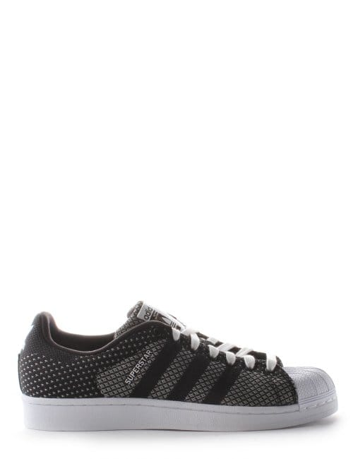 Superstar Woven Men's 3-Stripe Trainers Black