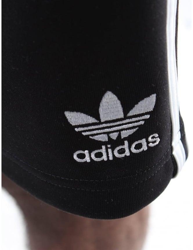 e5ade4d85ff Adidas Tie Waist Men s 3 Stripe Shorts Black