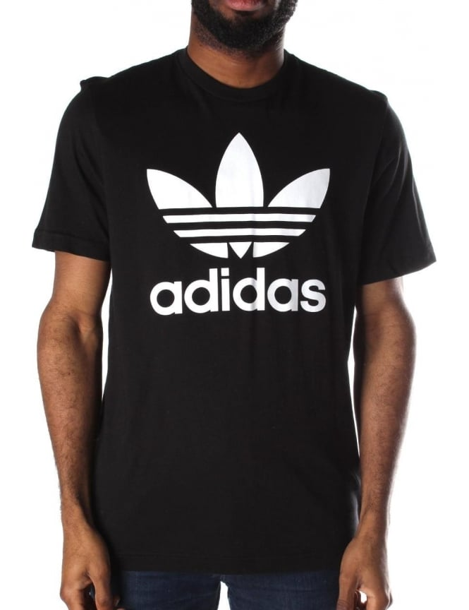3cc7596d7d3f Adidas Trefoil Men s Logo Crew Neck Short Sleeve T-Shirt