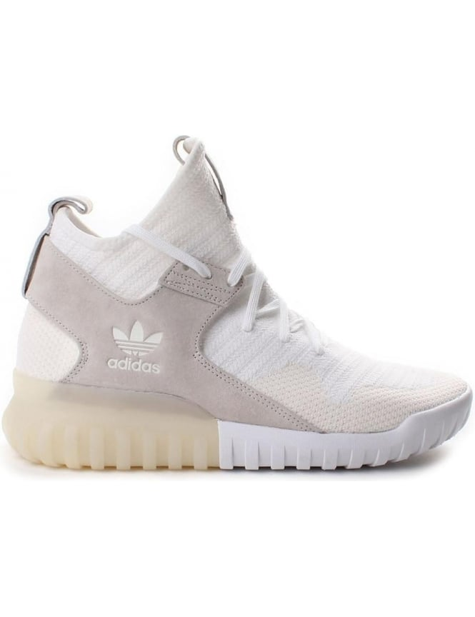 Adidas Tubular Men's X Primeknit Trainer White
