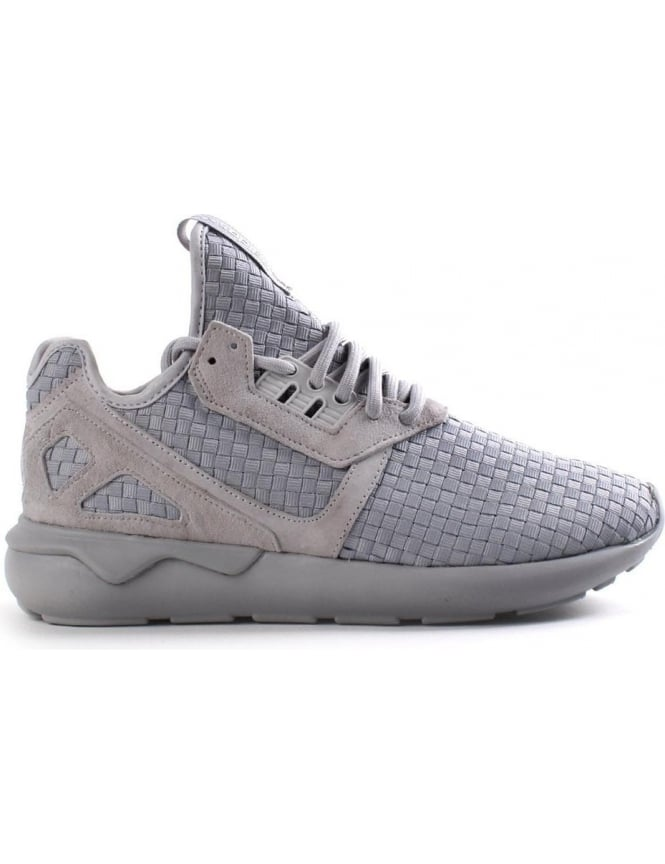 detailed look a3a0b 1439a Adidas Tubular Runner Weave Panel Men's Trainer Grey