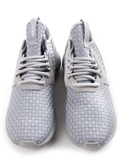 sports shoes cb27d 10e2b Adidas Tubular Runner Weave Panel Men s Trainer Grey