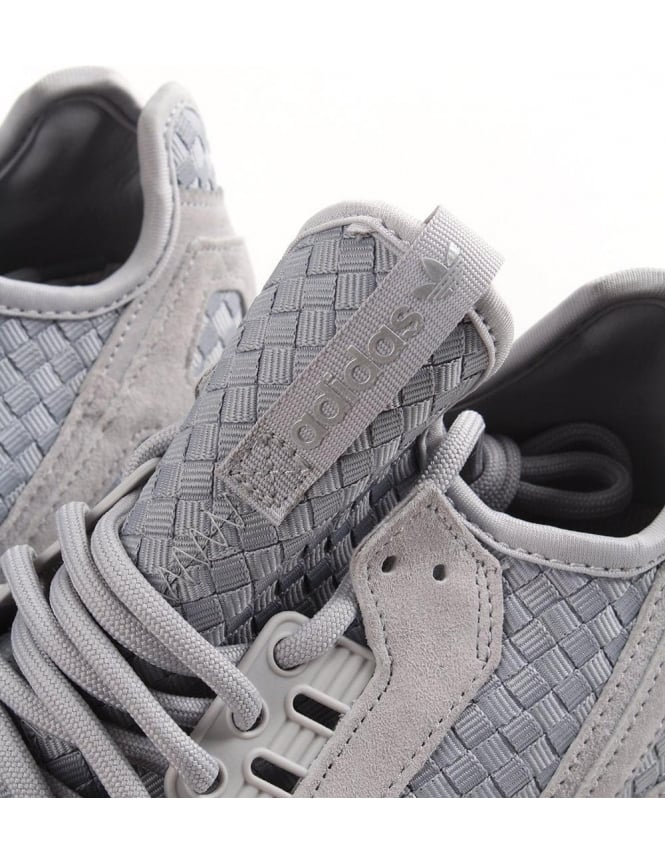 sports shoes c3be5 e6d60 Tubular Runner Weave Panel Men  039 s Trainer Grey
