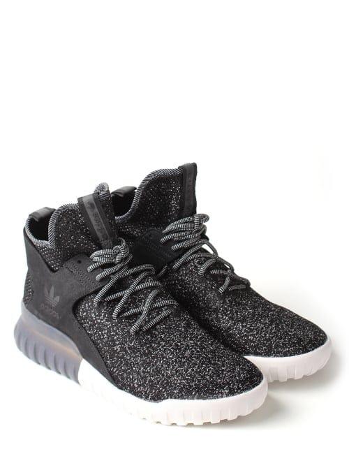 finest selection 84746 4cbb8 Adidas Tubular X Prime Knit Trainer Black