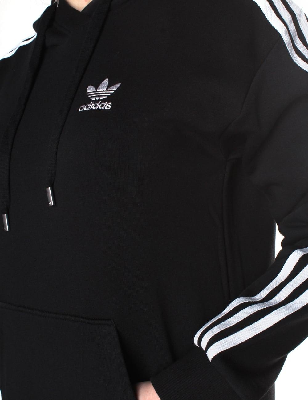 4e9ecad7808f Adidas Women s 3 Stripes Hoodie Dress