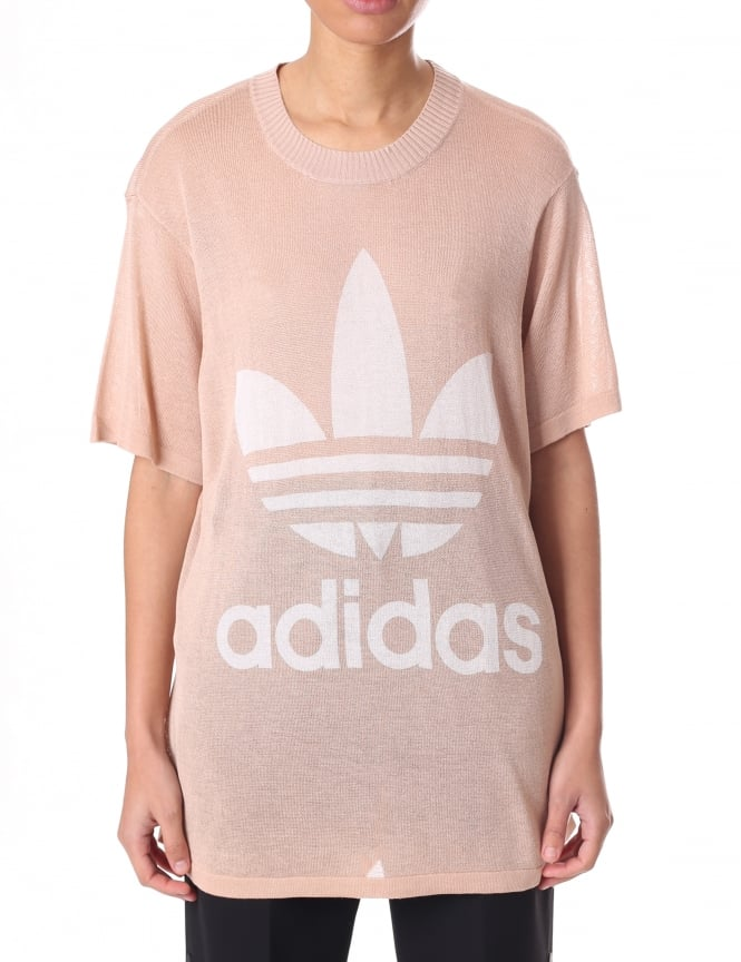 Adidas Women's Big Trefoil Tee