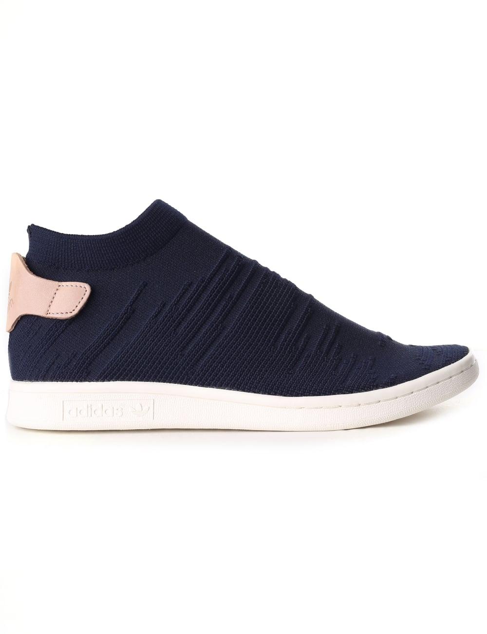 Adidas Women s Stan Smith Sock Primeknit Shoes a0049c0938
