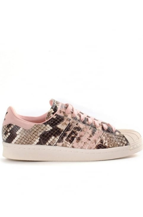 Women's Superstar 80's Snakeskin Trainer