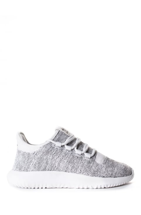 Women's Tubular Shadow Knit Trainer White/Core Black