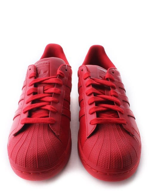 newest collection d5504 94fbc Adidas x Pharrell Superstar Supercolour Women's Trainer Red