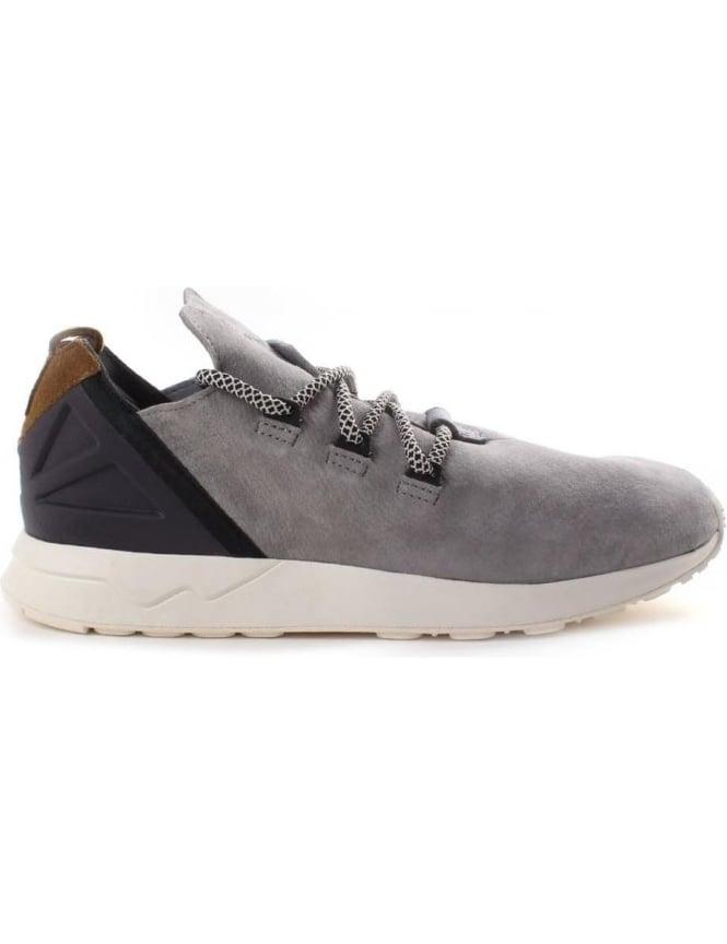 grey adidas zx flux mens
