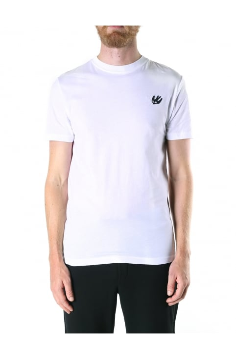 Crew Neck Men's Swallow Tee