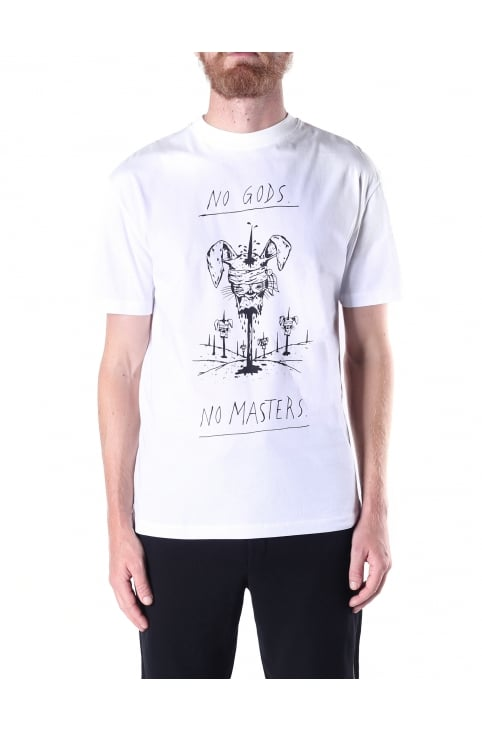 Dropped Shoulder Men's No Masters Tee