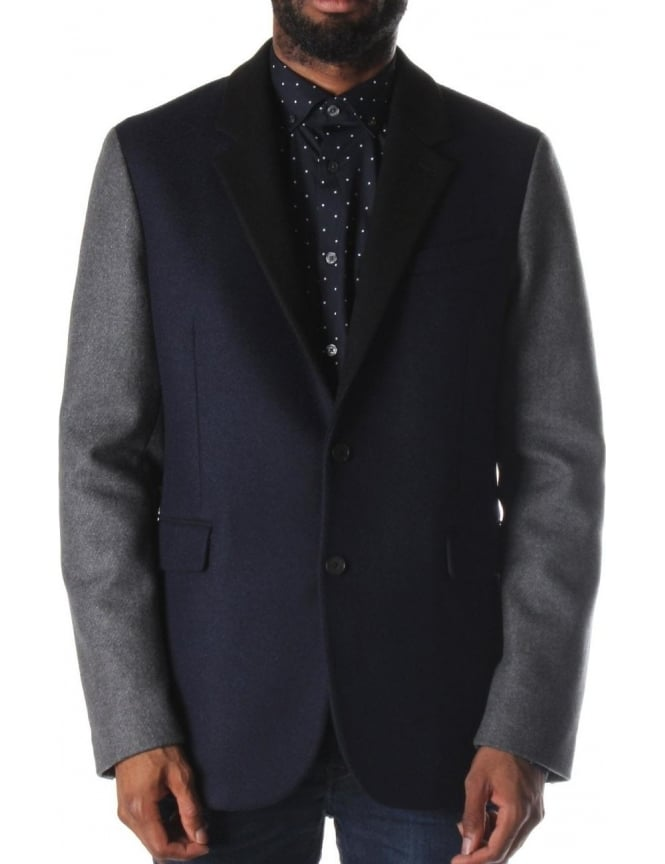McQ by Alexander McQueen Men's Blazer Jacket Navy