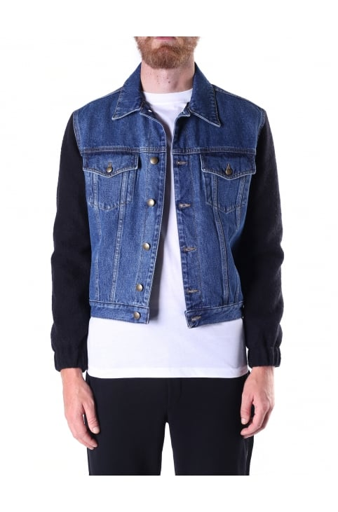 Men's Sophisticated Denim Jacket