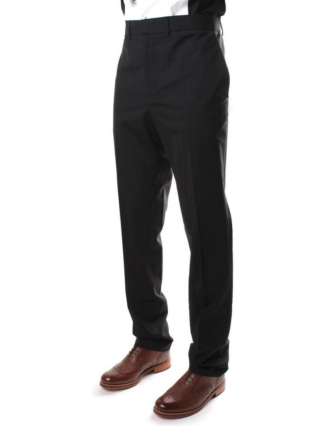 McQ by Alexander McQueen Tailored Men's Trousers Black