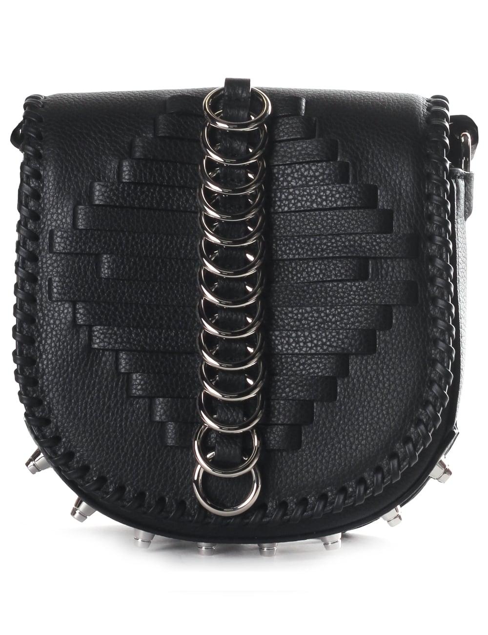 967d7581b13ba Alexander Wang Mini Lia Ring Detail Woman s Sling Bag