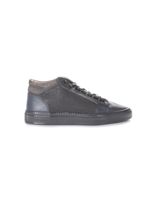 Android Homme Men's Propulsion Mid Stingray Emboss Plain Leather Trainer