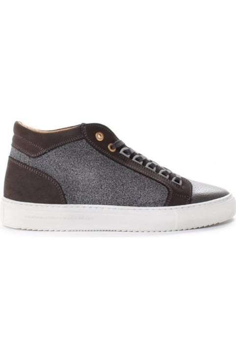 Propulsion Men's Mid Caviar Nubuck And Leather Trainer