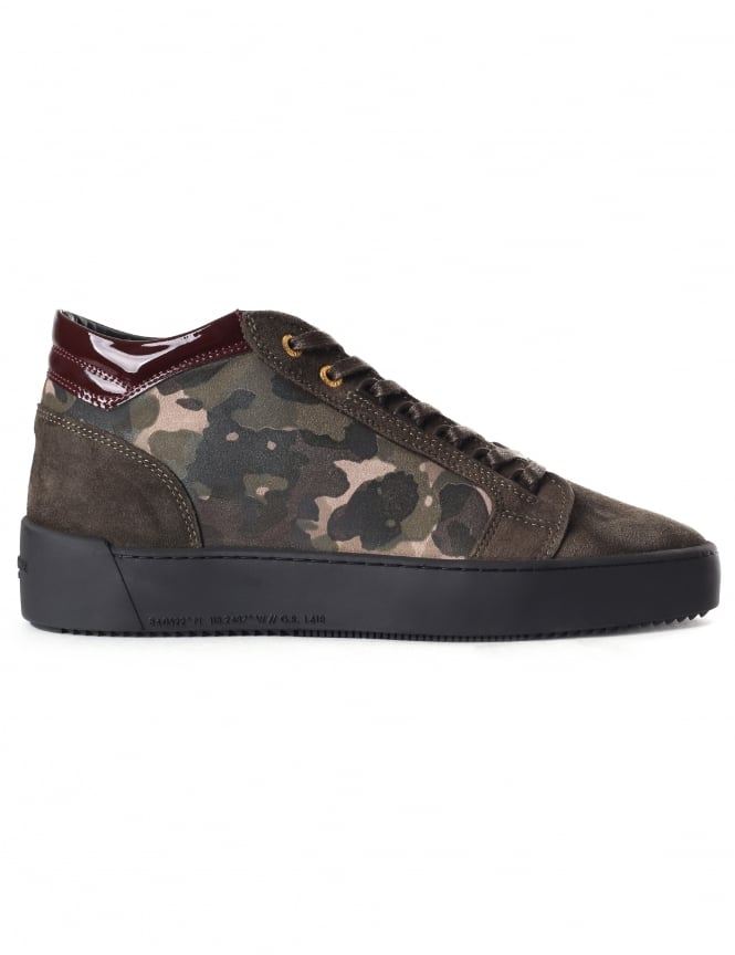 Android Homme Propulsion Mid Men's Camouflage Trainer