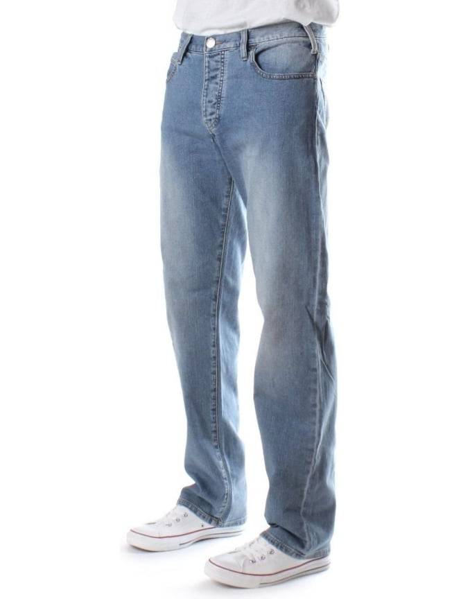 Armani Jeans 06J71 Regular Waist Regular Leg Men's Jean Denim