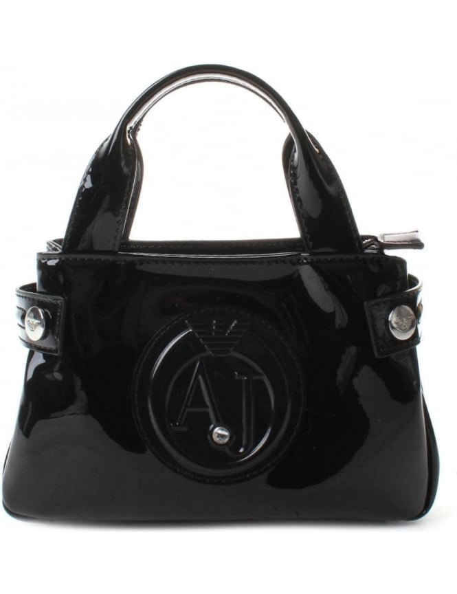Armani Jeans 922528 Women's 'AJ' Logo Mini Shopper Bag