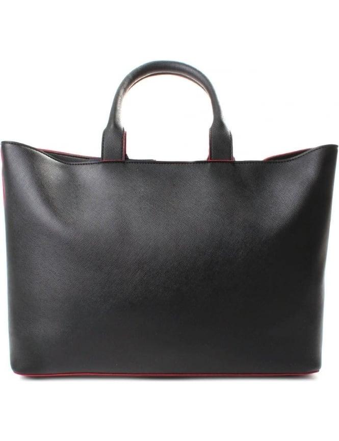 Armani Jeans 922532 Women s Colour Trim Shopper Bag Black 30b63be18a423