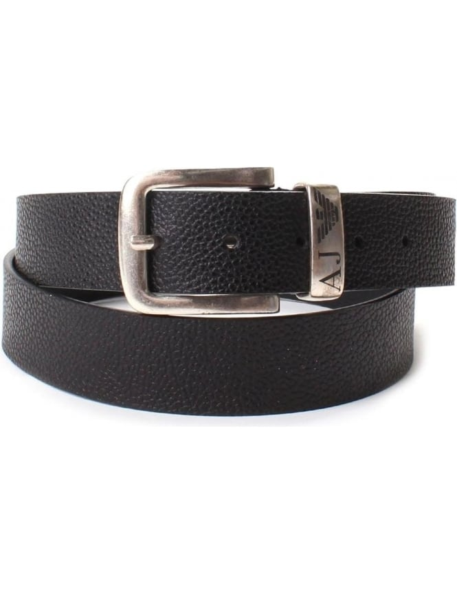 Armani Jeans 931508 Men's Buckle Textured Belt