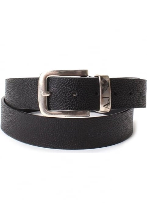 931508 Men's Buckle Textured Belt