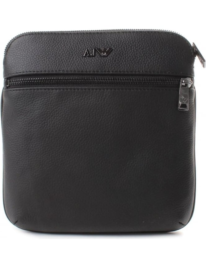Armani Jeans 932534 Men's Crossbody Bag Black