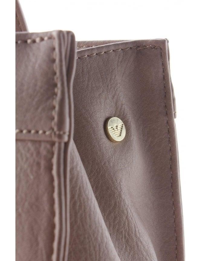 a930e11c13 'AJ' Logo Women's Shopping Bag Light Grey