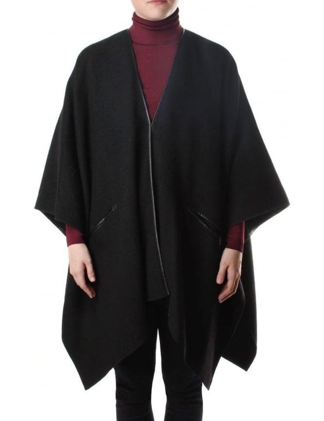 new product 36c4e f4bc9 Armani Jeans Batwing Women's Caban Cape Coat